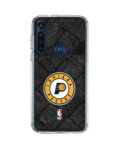 Indiana Pacers Dark Rust Moto G8 Power Clear Case