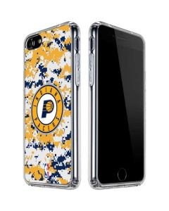 Indiana Pacers Digi Camo iPhone SE Clear Case