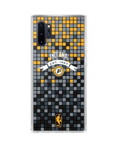 Indiana Pacers Digi Galaxy Note 10 Plus Clear Case