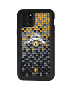 Indiana Pacers Digi iPhone 11 Pro Max Waterproof Case