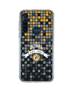 Indiana Pacers Digi Moto G8 Power Clear Case