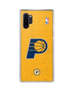 Indiana Pacers Distressed Galaxy Note 10 Plus Clear Case