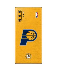Indiana Pacers Distressed Galaxy Note 10 Plus Skin
