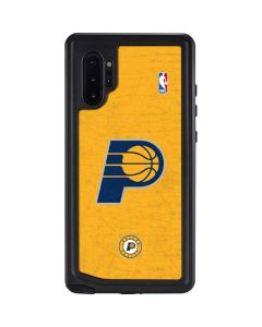 Indiana Pacers Distressed Galaxy Note 10 Plus Waterproof Case