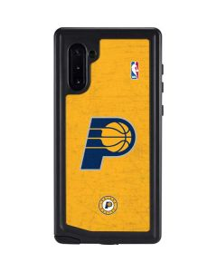 Indiana Pacers Distressed Galaxy Note 10 Waterproof Case
