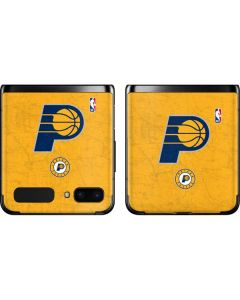 Indiana Pacers Distressed Galaxy Z Flip Skin