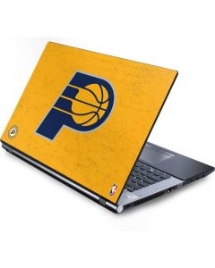 Indiana Pacers Distressed Generic Laptop Skin