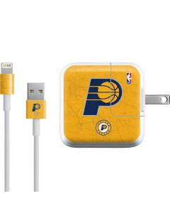 Indiana Pacers Distressed iPad Charger (10W USB) Skin