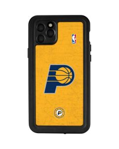 Indiana Pacers Distressed iPhone 11 Pro Max Waterproof Case
