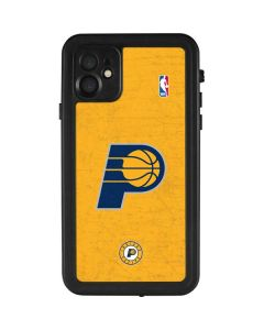 Indiana Pacers Distressed iPhone 11 Waterproof Case