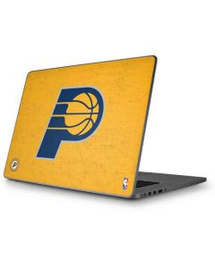 Indiana Pacers Distressed Apple MacBook Pro 17-inch Skin