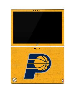 Indiana Pacers Distressed Surface Pro 7 Skin