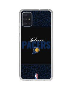 Indiana Pacers Elephant Print Galaxy A51 Clear Case