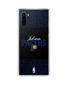 Indiana Pacers Elephant Print Galaxy Note 10 Plus Clear Case
