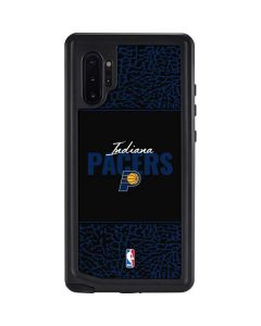 Indiana Pacers Elephant Print Galaxy Note 10 Plus Waterproof Case