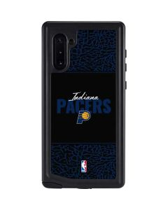 Indiana Pacers Elephant Print Galaxy Note 10 Waterproof Case