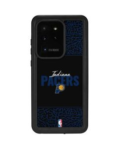 Indiana Pacers Elephant Print Galaxy S20 Ultra 5G Waterproof Case