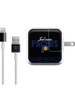 Indiana Pacers Elephant Print iPad Charger (10W USB) Skin