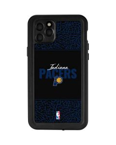 Indiana Pacers Elephant Print iPhone 11 Pro Max Waterproof Case