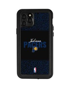Indiana Pacers Elephant Print iPhone 11 Pro Waterproof Case