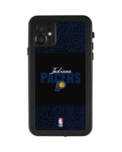 Indiana Pacers Elephant Print iPhone 11 Waterproof Case