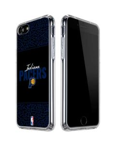 Indiana Pacers Elephant Print iPhone SE Clear Case