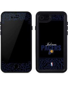 Indiana Pacers Elephant Print iPhone SE Waterproof Case