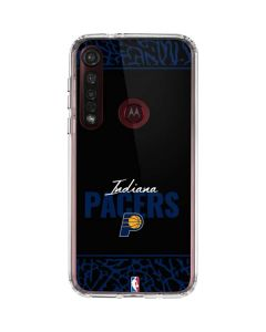 Indiana Pacers Elephant Print Moto G8 Plus Clear Case