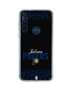 Indiana Pacers Elephant Print Moto G8 Power Clear Case