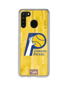 Indiana Pacers Hardwood Classics Galaxy A21 Clear Case