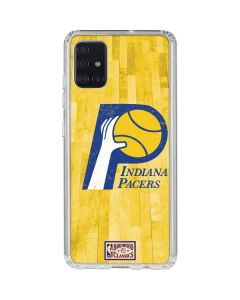 Indiana Pacers Hardwood Classics Galaxy A51 Clear Case