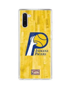 Indiana Pacers Hardwood Classics Galaxy Note 10 Clear Case