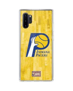 Indiana Pacers Hardwood Classics Galaxy Note 10 Plus Clear Case