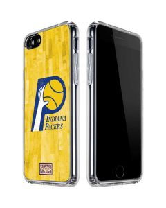 Indiana Pacers Hardwood Classics iPhone SE Clear Case