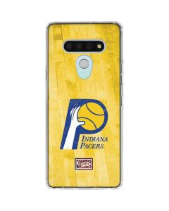 Indiana Pacers Hardwood Classics LG Stylo 6 Clear Case