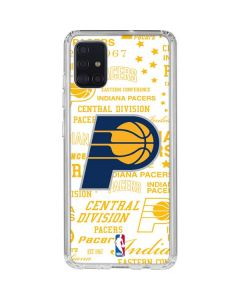 Indiana Pacers Historic Blast Galaxy A51 Clear Case