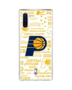Indiana Pacers Historic Blast Galaxy Note 10 Clear Case