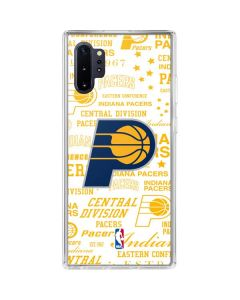 Indiana Pacers Historic Blast Galaxy Note 10 Plus Clear Case