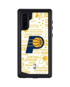 Indiana Pacers Historic Blast Galaxy Note 10 Waterproof Case