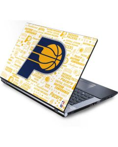Indiana Pacers Historic Blast Generic Laptop Skin