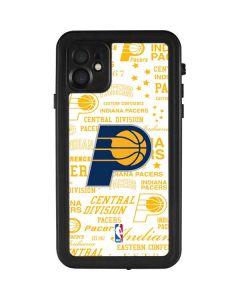 Indiana Pacers Historic Blast iPhone 11 Waterproof Case