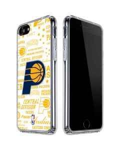 Indiana Pacers Historic Blast iPhone SE Clear Case
