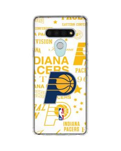 Indiana Pacers Historic Blast LG Stylo 6 Clear Case