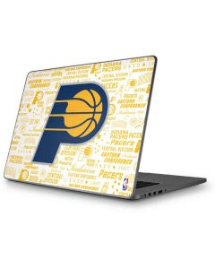 Indiana Pacers Historic Blast Apple MacBook Pro 17-inch Skin
