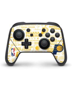 Indiana Pacers Historic Blast Nintendo Switch Pro Controller Skin