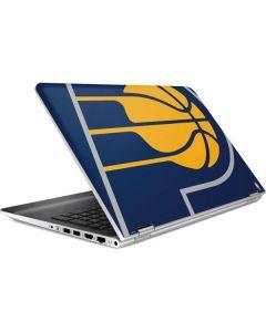 Indiana Pacers Large Logo HP Pavilion Skin