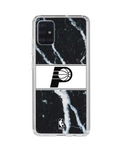Indiana Pacers Marble Galaxy A51 Clear Case