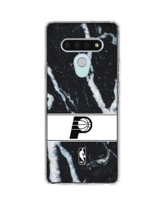 Indiana Pacers Marble LG Stylo 6 Clear Case
