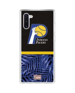 Indiana Pacers Retro Palms Galaxy Note 10 Clear Case