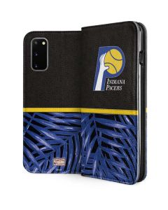 Indiana Pacers Retro Palms Galaxy S20 Folio Case